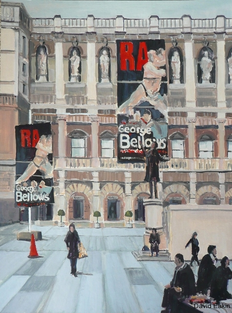 Bellows at the Royal Academy